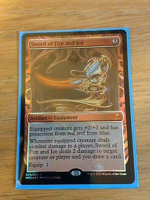 Magic the Gathering Sword of Fire and Ice Kaladesh Masterpiece Series