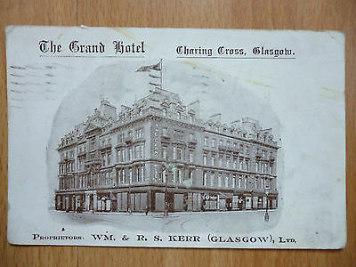 Grand Hotel Charing Cross Glasgow 1927