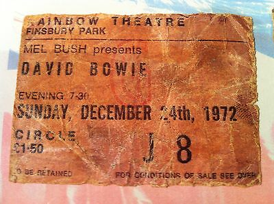 David Bowie - Rare Collections - 8 Concert Tour Tickets Framed 1972-1987 Rare
