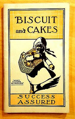 BISCUIT and CAKES Reliable Flour Co. Boston 1915 recipe booklet advertising nice