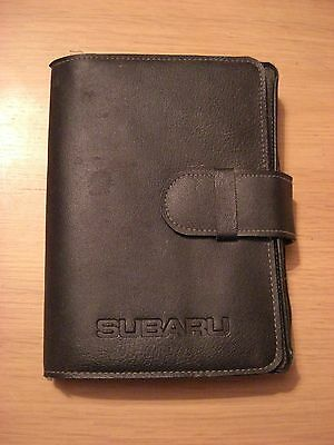 Subaru Legacy Owners Wallet Handbook/Manual 93-98 Plus Subaru Documents Car