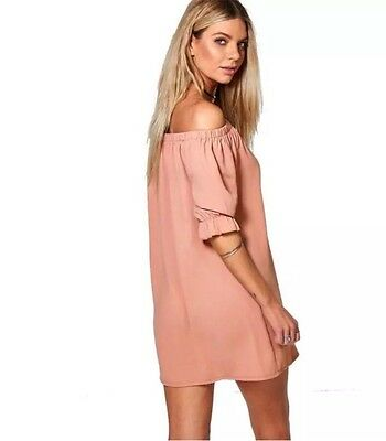 New Women's Summer Casual Short Sleeve Evening Party Cocktail Mini Dress