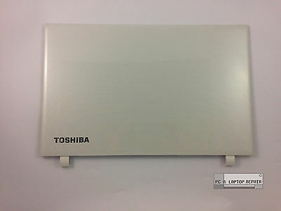 OEM Toshiba Satellite L50-C White Top Rear Back Lid Cover & Webcam A000383550