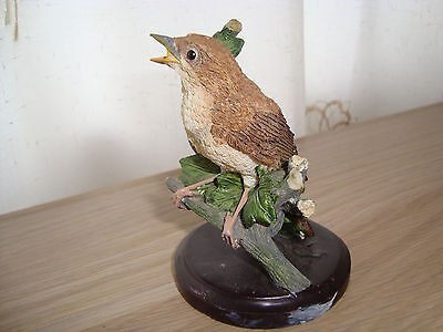 NIGHTINGALE - resin bird figurine from COUNTRY BIRD COLLECTION