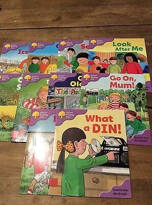 Oxford Reading Tree, stage 1 first phonics 10 titles
