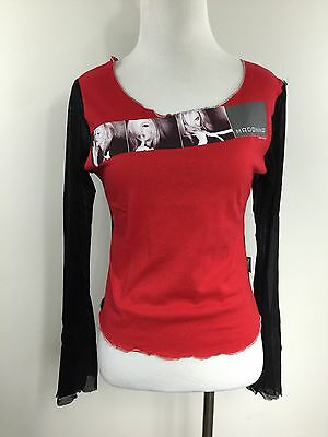 Madonna Jonny Rock Signature collection  2001 Tour Long Sleeve One Size Top NWT