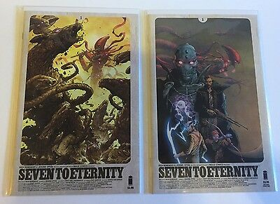 Seven for Eternity 1 / Tony Moore Cover / Issue 2 Cover A & B