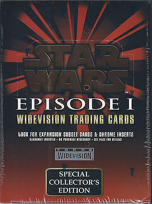 Star Wars Episode I Widevision Trading Cards Sealed Box