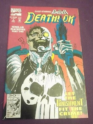 Marvel Comic - Deathlok Issue 7 featuring The Punisher