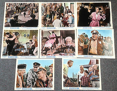Set Of 8 Original Lobby Cards The Russians Are Coming,  The Russians Are Coming