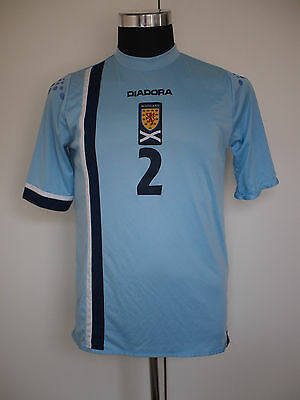 Scotland Player Issue Away Shirt 2006 S/S Size XL
