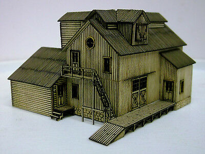 """Z Scale """" West End Supply """" Laser Cut Fully Assembled"""