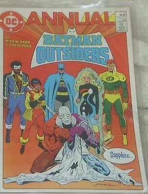 BATMAN AND THE OUTSIDERS ANNUAL  Issue 2 1985 DC Comics