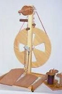 Fricke S-160-DT - Double Treadle Spinning Wheel