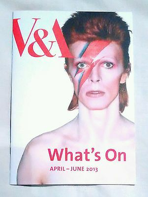 David Bowie IS - V&A London What's On Guide 2013 - Original Exhibition