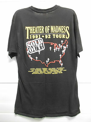 Vintage 1991-1992 OZZY OSBOURNE Theater of Madness TOUR T-SHIRT XL