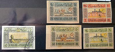 Azerbaijan – Selection of Issues – Mint & Used – (Se1)