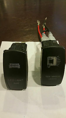 Jeep Light Switches - 2 switches - new!