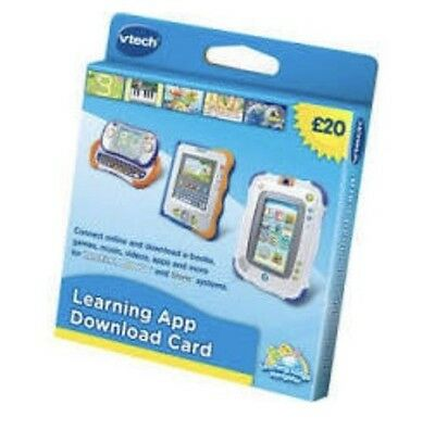 Brand New Vtech Learning App £20 Download Card for Innotab, Mobigo, Storio etc