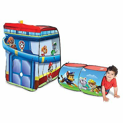 Playhut Paw Patrol Play Hut Pop up Tent House Tunnel NEW NIB