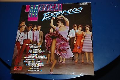 "12"" Club Doppel-LP ""MUSICAL EXPRESS"" POLYDOR 32392-3 Freddy, Peter Alexander"