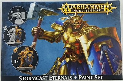Citadel Paint: Stormcast Eternals and Paint Set by Games Workshops GAW60-10-NEW