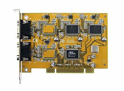 Conexant 878A- PCI 8-Channel Video Capture Card & Cables , ANALOG - LINUX & MORE