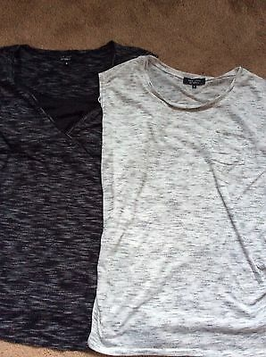 2 New Look Maternity Tops Size 8 & 10