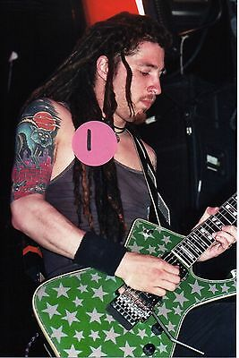 White Zombie Jay Yuenger 8 - 5X7 Color Concert Photo Set #6B