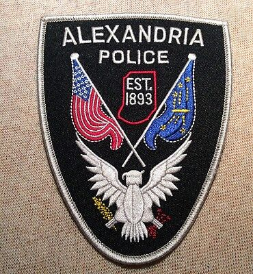 IN Alexandria Indiana Police Patch