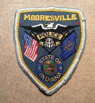 IN Mooresville Indiana Police Patch