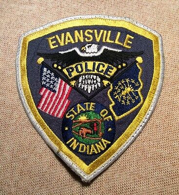 IN Evansville Indiana Police Patch