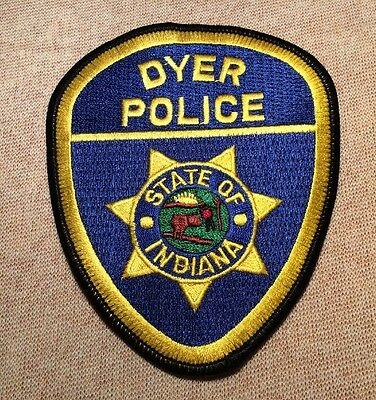 IN Dyer Indiana Police Patch