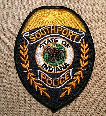 IN Southport Indiana Police Patch
