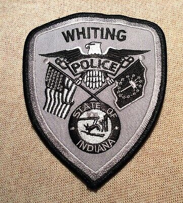 IN Whiting Indiana Police Patch (Subdued)