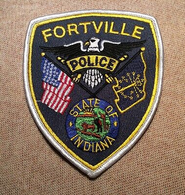 IN Fortville Indiana Police Patch