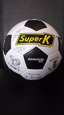 Signed 1990/91 Manchester United Football