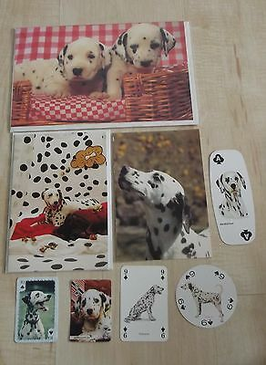 DALMATIAN new greeting cards,postcard, single playing cards, dog collection