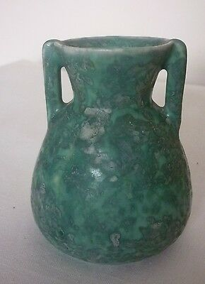 Arts & Crafts / Art Deco small size Shorter & Son two handled pottery vase