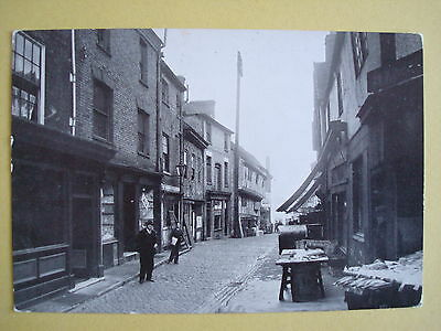 Real Photographic Postcard of Butcher Row, COVENTRY, 1935