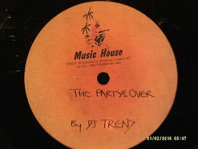 Music House Dubplate - DJ Trend Partys Over - DJ Trend Word