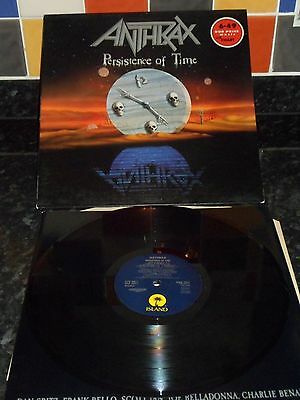 Anthrax Persistence of Time LP Island
