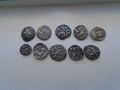 lovely collection of old coins  possibly celtic  mystery clearance find items