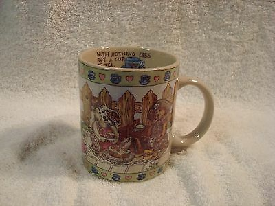 The Boyds Collection A Spoonful of Sunshine Bearware Pottery Works Mug 1998