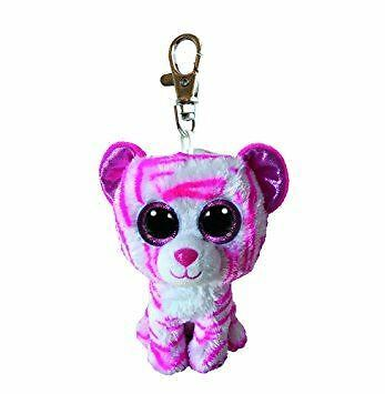 "TY Beanie Boo Key Clip 3 Inch Asia the Tiger - 3"" Collectable Plush"