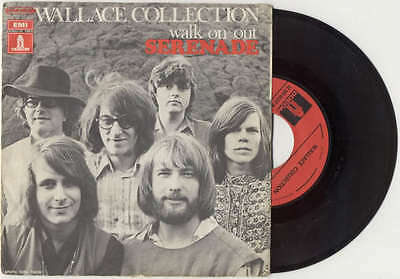 """WALLACE COLLECTION - SERENADE/ Walk On Out 1970 ODEON France 7"""" 45 GIRI"""