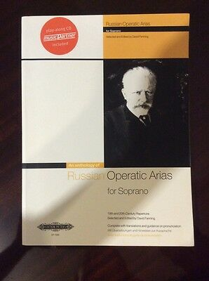 Russian Operatic Arias for soprano, sheet music book Edition Peters