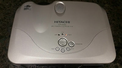 Hitachi CP-X440 Multimedia LCD Projector fully operational
