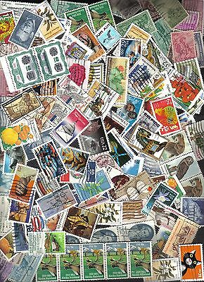 500+ United States Commemorative Stamps, Used, Off Paper (Mix #4)