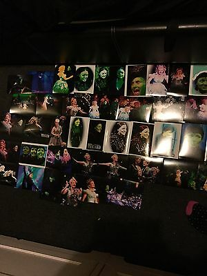 100 Job Lot Wicked The Musical Photos And Postcards